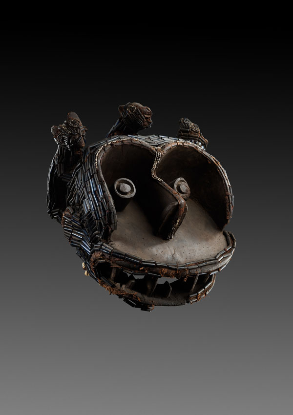 Bakom Monkey Helmet Mask - now in the collection of the Detroit Institute of Arts - image 1