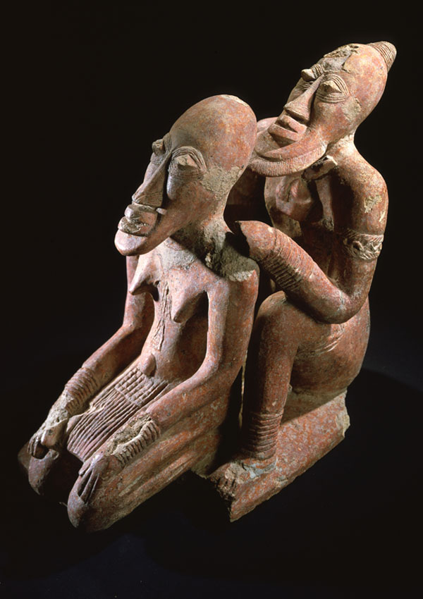 Djenné Terracotta Couple - now in the collection of the Private Collection - image 1