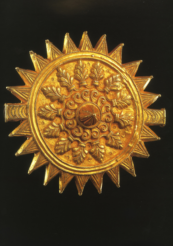 Ashanti Gold Soul Washer's Badge - now in the collection of the Musée Dapper, Paris - image 1