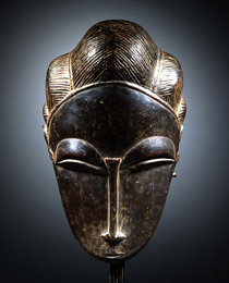 Learn more about Baule Portrait Mask  work of art