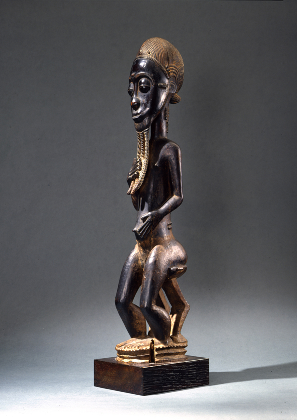 Baule Seated Spirit Figure blolo bian - now in the collection of the Dallas Museum of Art - image 1