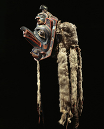 Learn more about Bella Coola Frontlet work of art