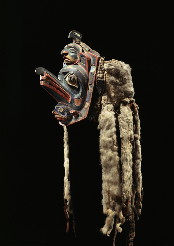 Bella Coola Frontlet - now in the collection of the Minneapolis Institute of Arts - image 1