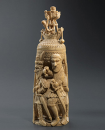 Learn more about Bini-Portuguese Ivory Salt Cellar work of art