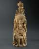 Bini-Portuguese Ivory Salt Cellar - now in the collection of the Musée du Quai Branly, Paris - image 1
