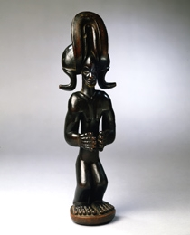 Learn more about Chokwe Standing Chieftain Figure work of art