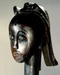 Learn more about Fang Reliquary Head work of art