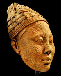 Learn more about Ife Terracotta Head work of art
