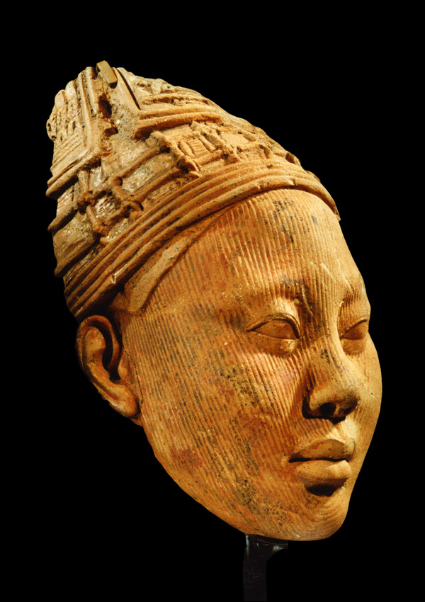 Ife Terracotta Head - now in the collection of the Kimbell Art Museum, Fort Worth - image 1