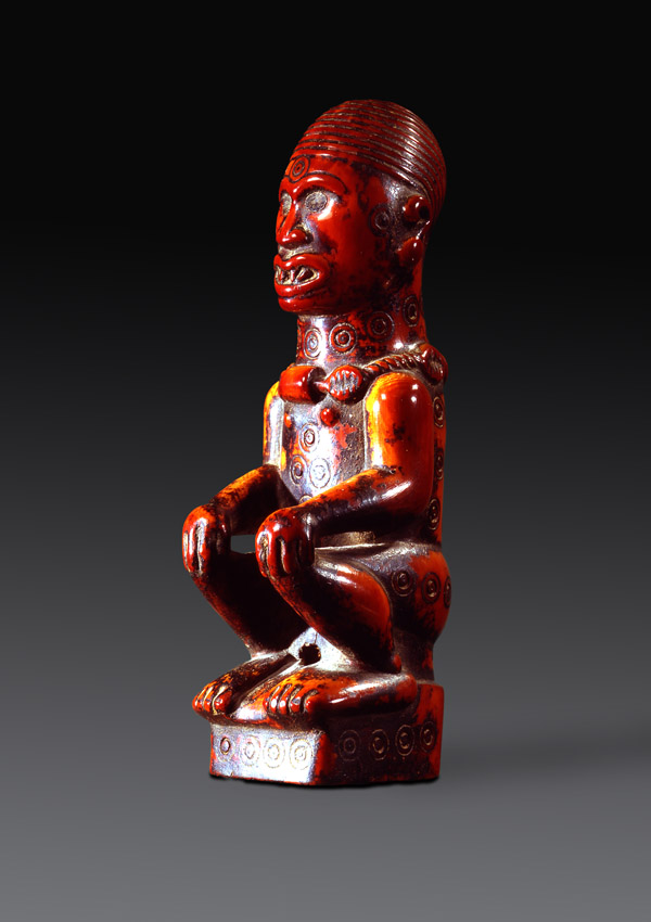 Kongo Seated Figure - now in the collection of the Private Collection - image 1