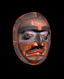 Learn more about Kwakiutl Mask work of art
