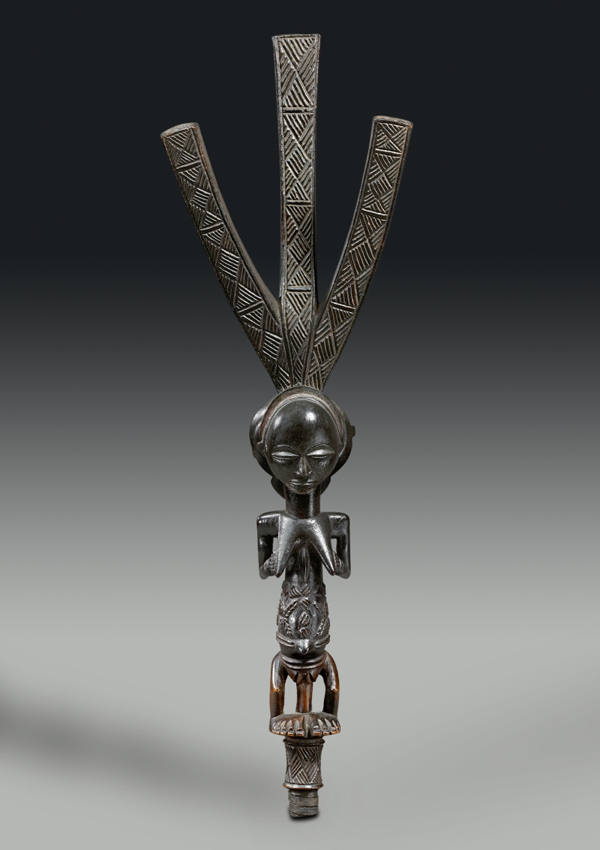 Luba Ceremonial Bow Stand - now in the collection of the Private Collection - image 1