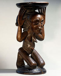 Learn more about Master of Buli Caryatid Stool work of art