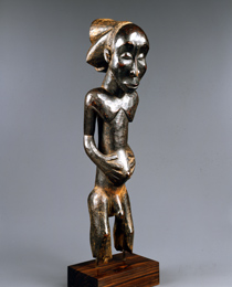 Learn more about Luba Nkuvu Ancestor Figure work of art