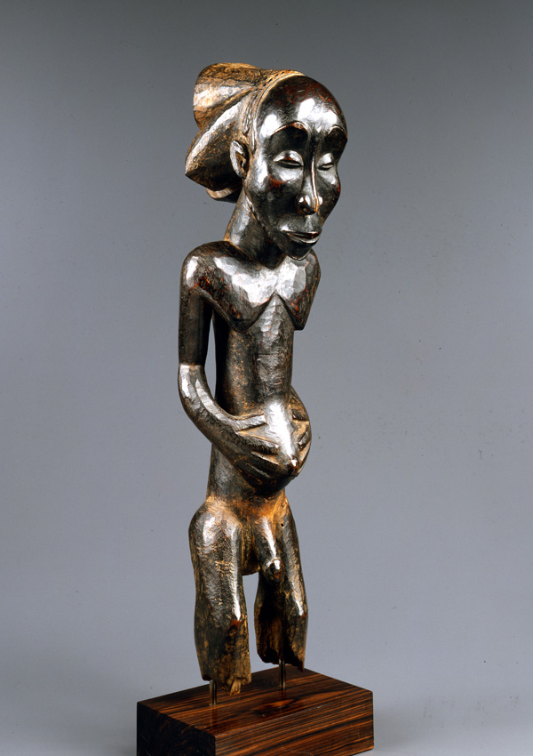 Luba Nkuvu Ancestor Figure - now in the collection of the Private Collection - image 1