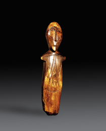 Learn more about Okvik Ivory Female Figurine work of art