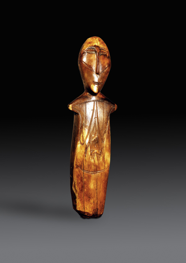 Okvik Ivory Female Figurine - now in the collection of the Private Collection - image 1