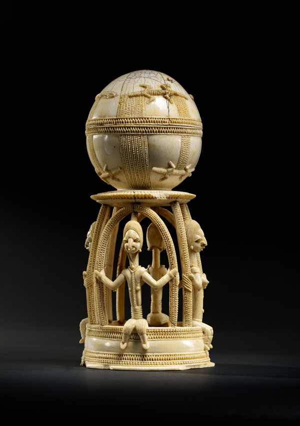 Sapi-Portuguese Ivory Salt Cellar - now in the collection of the Private Collection - image 1