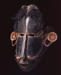 Learn more about Torres Strait Mask buk or krar work of art
