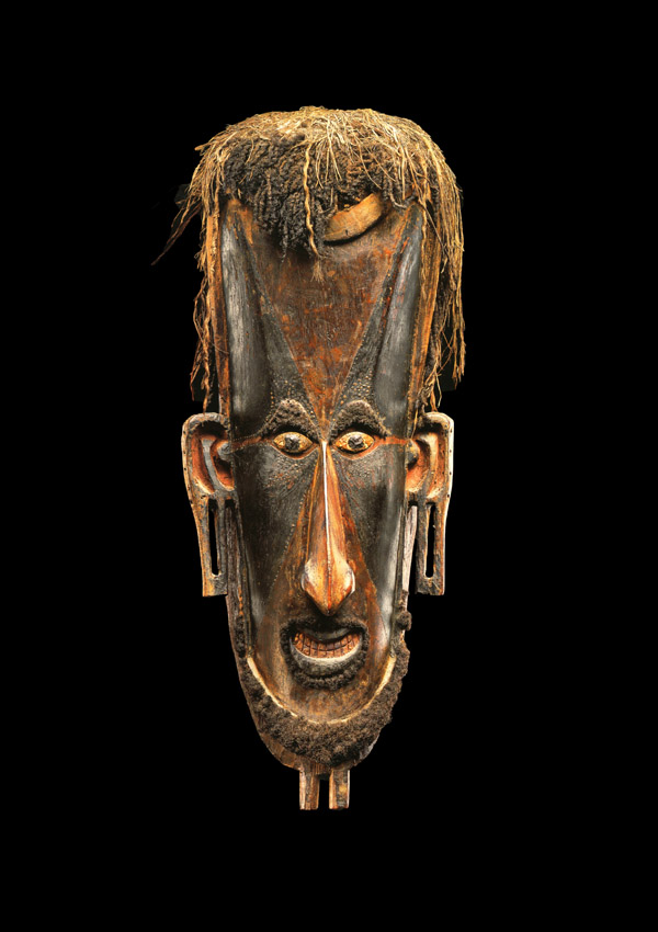Torres Strait Mask mawa - now in the collection of the Musée Barbier-Mueller, Geneva - image 1