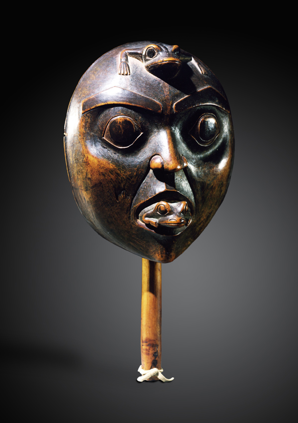 Haisla Rattle - now in the collection of the Private Collection - image 1