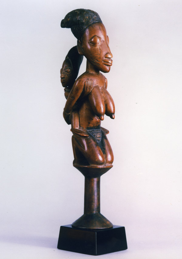 Yoruba Dance Staff oshe Shango - now in the collection of the National Museum of African Art, Washington - image 1