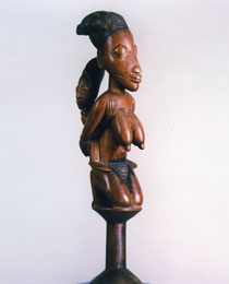Learn more about Yoruba Dance Staff oshe Shango work of art
