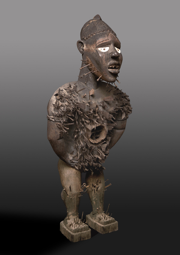 Kongo Power Figure n'kisi n'kondi mangaaka - now in the collection of the The Metropolitan Museum of Art, New York - image 1