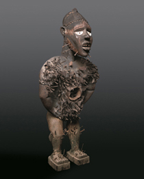 Learn more about Kongo Power Figure n'kisi n'kondi mangaaka work of art