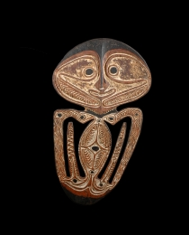 Learn more about Papuan Gulf Skull Rack work of art
