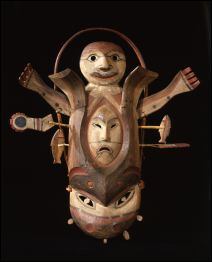 Learn more about Eskimo Yup'ik Mask (1) work of art