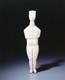 Learn more about Cycladic Female Figure work of art