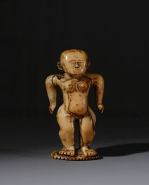 Learn more about Tongan Ivory Female Figurine work of art