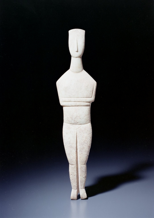 Cycladic Female Figure - now in the collection of the Private Collection - image 1