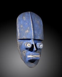 Learn more about Grebo-Krou mask work of art