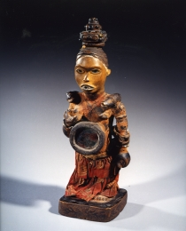 Learn more about Kongo Vili Power Figure work of art